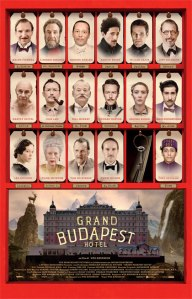 Grand Budapest Hotel - Wes Anderson