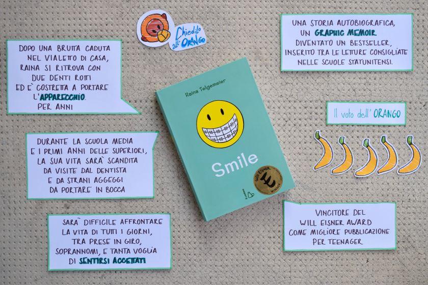 Smile - Raina Telgemier - recensione