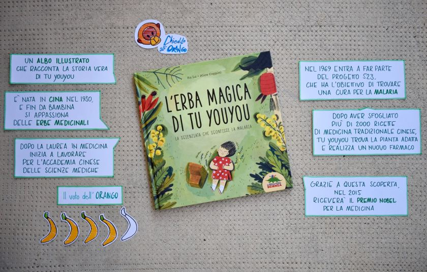 L'erba magica di Tu Youyou - Graphic Review