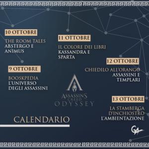 Odyssey - calendario