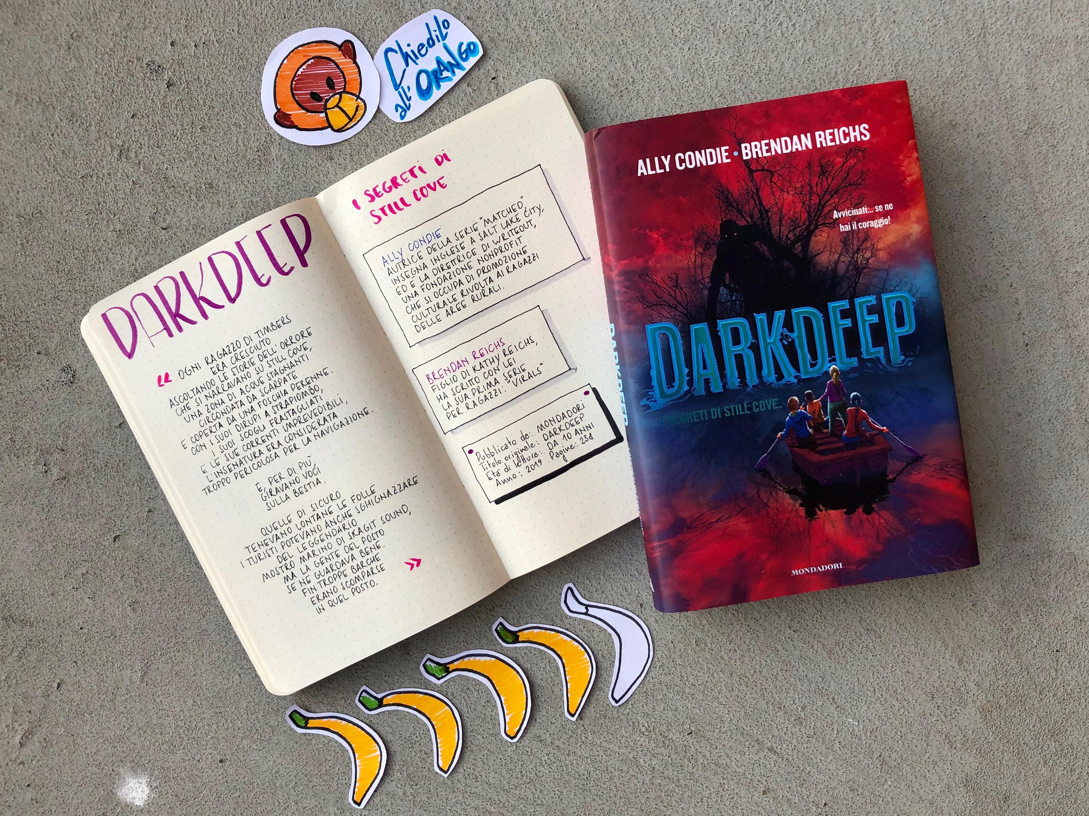 Darkdeep. I segreti di Still Cove - Graphic Review