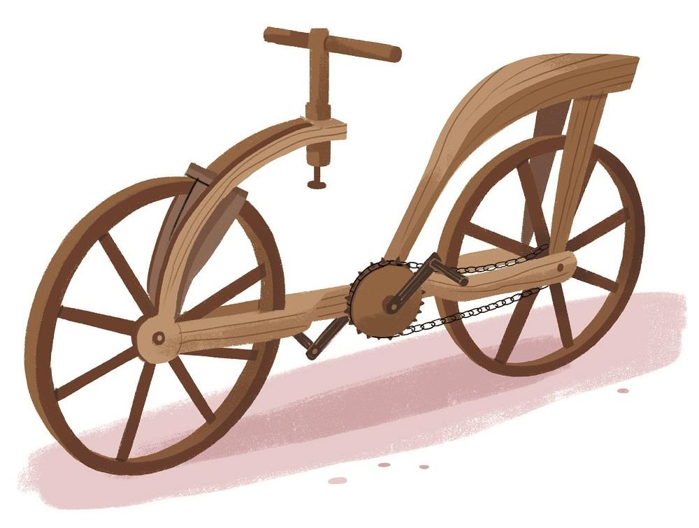 Le grandi macchine di Leonardo - Bicicletta